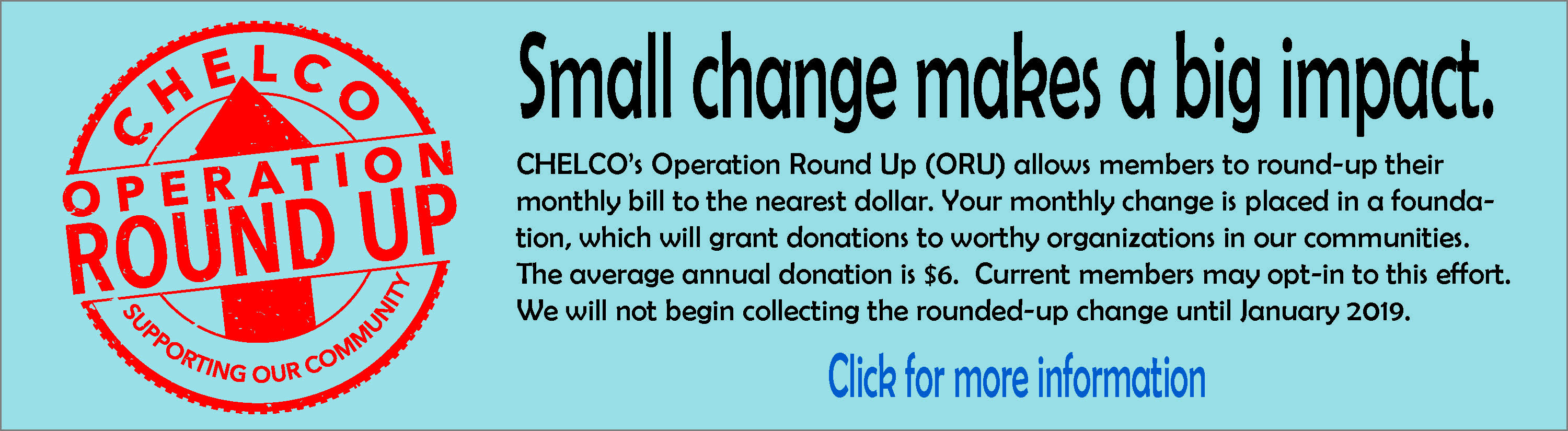 Operation Round Up web banner