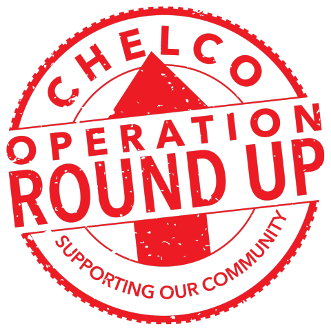 Log of CHELCO's Operation Round Up - supporting our community